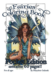 MarjoleinART Coloring Book (60 pages Edition) POCKET EDITION